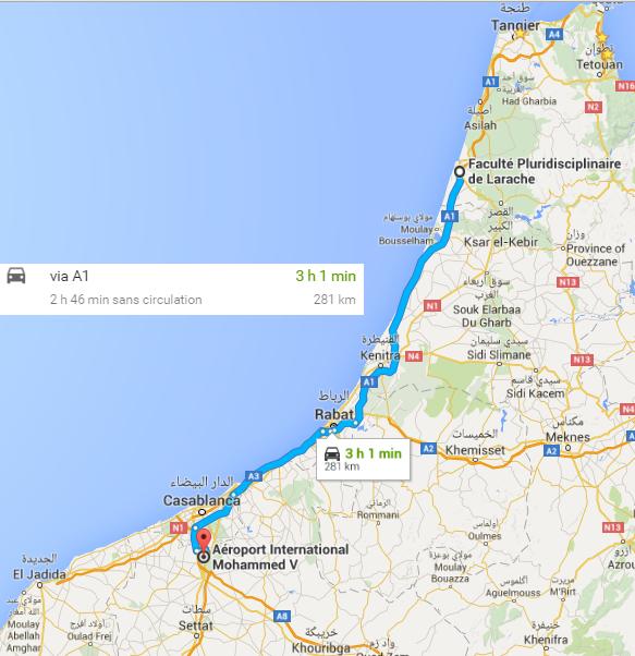 Aéroport M5 Casablanca + FP Larache